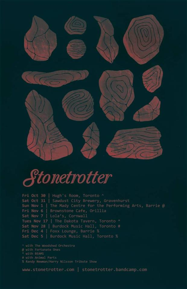 Stonetrotter Tour Graphic