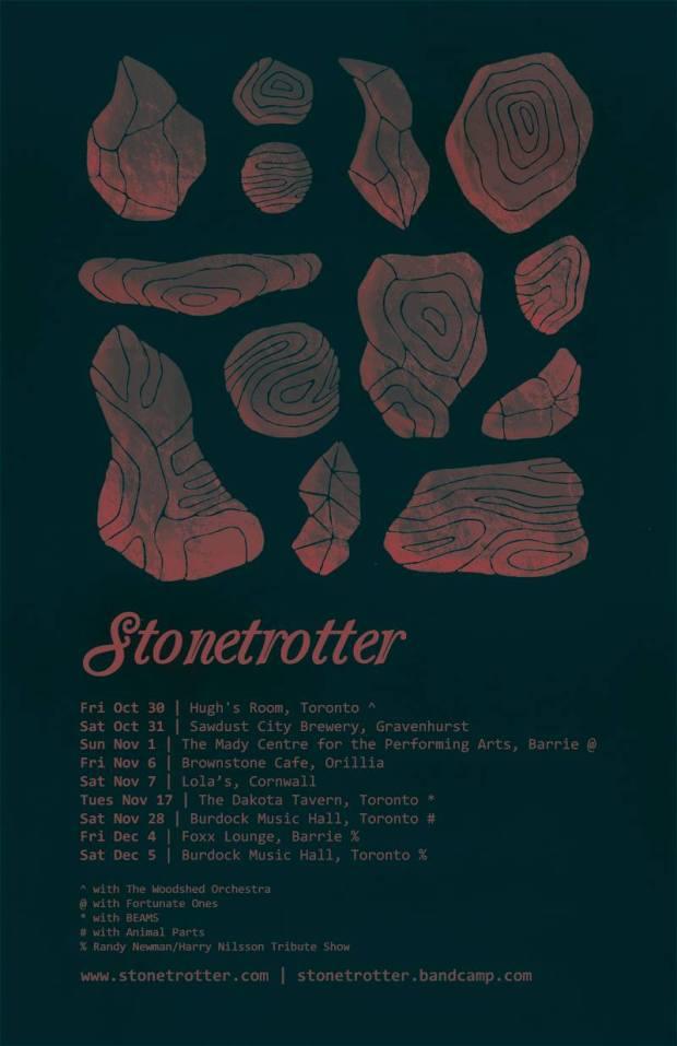 Stonetrotter Tour Graphic